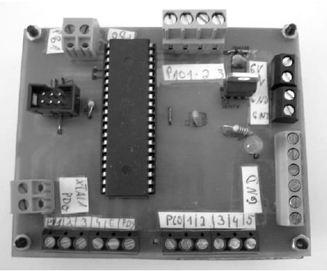 Bild der Mikrocontrollersteuerung
