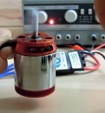 BLDC Motor für Frässpindel