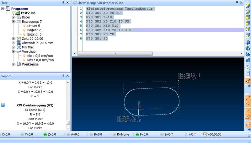 CNC Programmierung mit G-Code lernen - Beispielprogramme