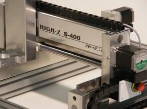 Bild der CNC Fräse