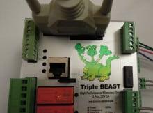 Triple Beast Schrittmotorsteuerung von Benezan Electronics
