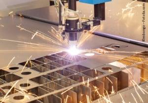laserstrahlschneiden mit einem faserlaser