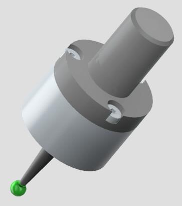 3D Darstellung eines Messtasters