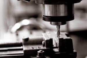 Bild einer Bohrmaschine
