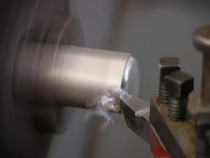 Bild einer Drehmaschine