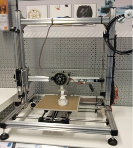 Bild des 3D Druckers