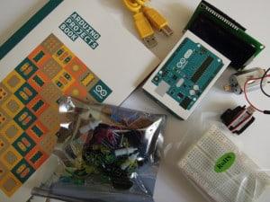 Einzelkomponenten des Starter Kits