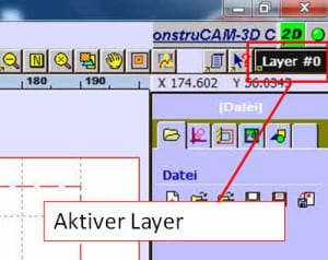 aktiver Layer