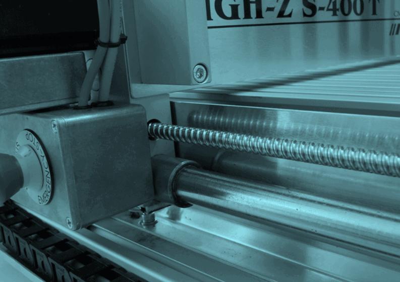 CNC Fräsmaschine mit Not Aus