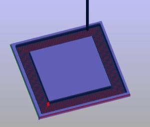 2,5 D Fräsen - Simulation