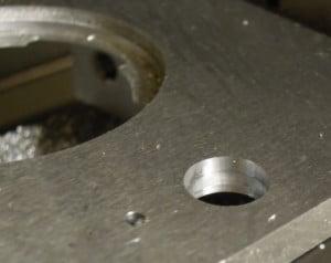 Bohrungen in Aluminium