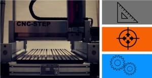 CNC Step - Stabilität und Genauigkeit