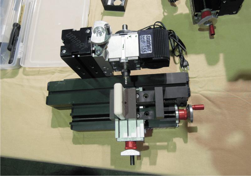 kleine Fräsmaschine