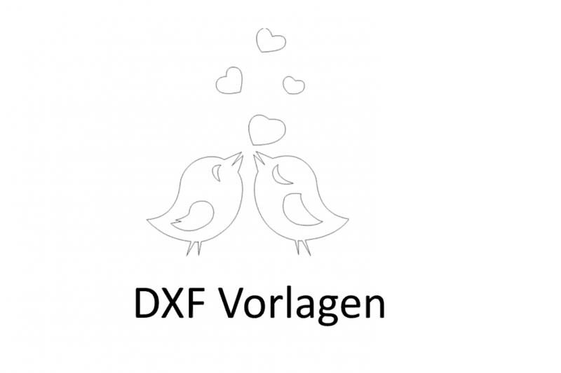 DXF Vorlagen Tiere