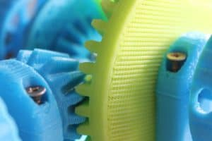 Getriebe aus dem 3D Drucker