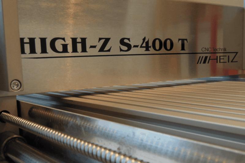 Fräsmaschine CNC Step High Z S400T