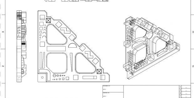 FreeCAD - 2D technische Zeichnung eines Winkels
