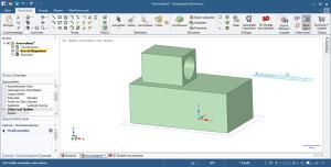 Bedienoberfläche 3D CAD Design Spark
