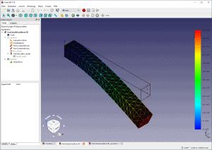 Simulation einer Balkenbiegung mit FreeCAD FEM